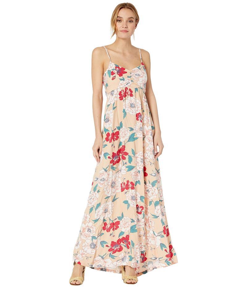ロキシー レディース ワンピース トップス Brilliant Stars Maxi Dress Ivory Cream New Flowers