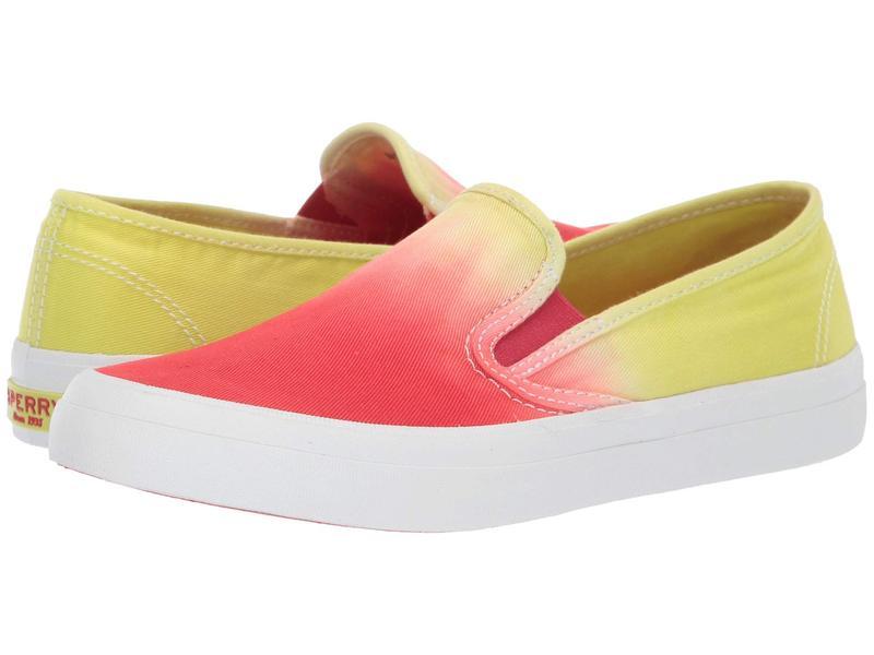 スペリー レディース スニーカー シューズ Seaside Dip-Dye Yellow/Orange