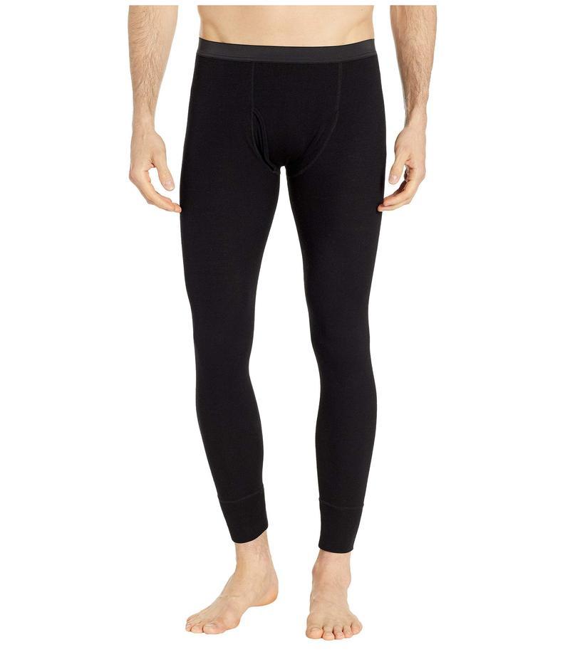 スノーピーク メンズ カジュアルパンツ ボトムス Super 100 Wool Tights Black