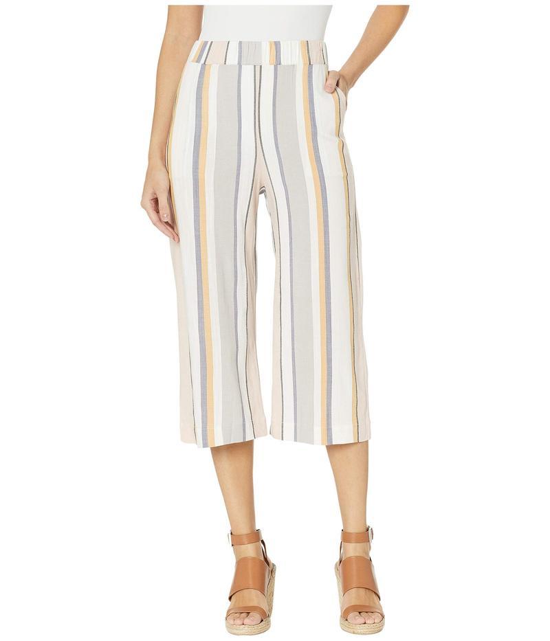 スリードッツ レディース カジュアルパンツ ボトムス Portofino Stripe Culotte Pants Multi