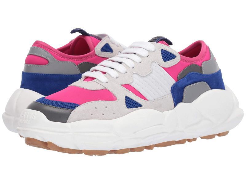 ヴェルサス ヴェルサーチ メンズ スニーカー シューズ Cloud Sole Chunky Sneaker Pink/Navy/Grey/White