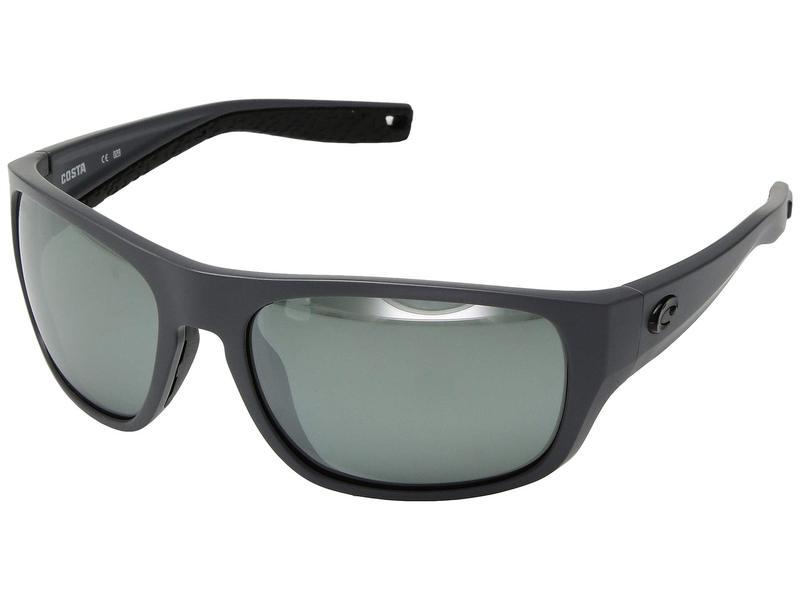 コスタ メンズ サングラス・アイウェア アクセサリー Tico Gray Silver Mirror 580G/Matte Gray Frame
