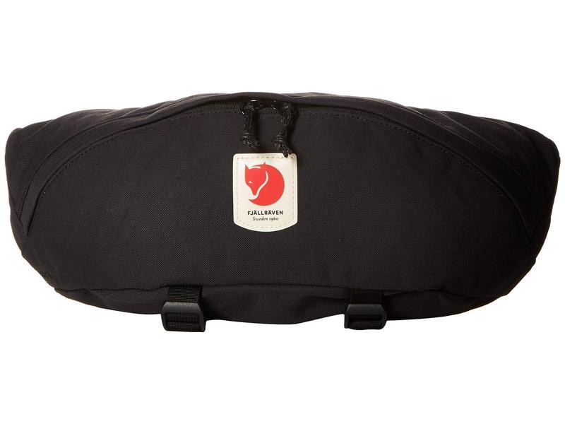 フェールラーベン メンズ ボディバッグ・ウエストポーチ バッグ Ulv¶ Hip Pack Large Black