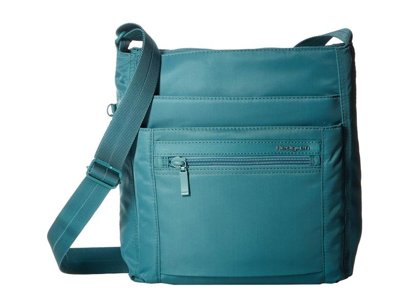 ヘドグレン レディース ハンドバッグ バッグ Orva RFID Shoulder Bag Brittany Blue