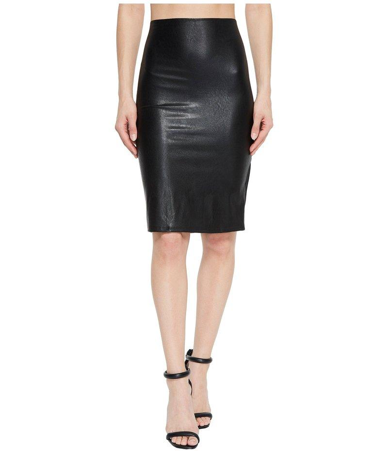コマンドー レディース スカート ボトムス Faux Leather Perfect Pencil Skirt SK01 Black