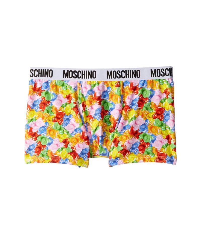 モスキーノ メンズ ボクサーパンツ アンダーウェア Gummy Bears Boxer Brief Multi
