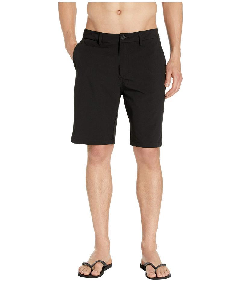 クイックシルバー メンズ ハーフパンツ・ショーツ ボトムス 20'' Union Amphibian Hybrid Shorts Black