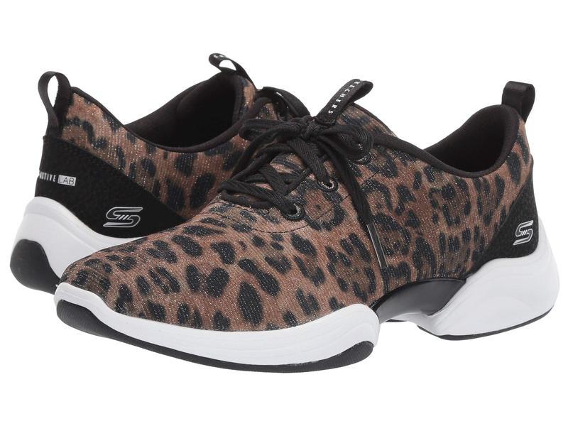 スケッチャーズ レディース スニーカー シューズ Skech-Lab Leopard