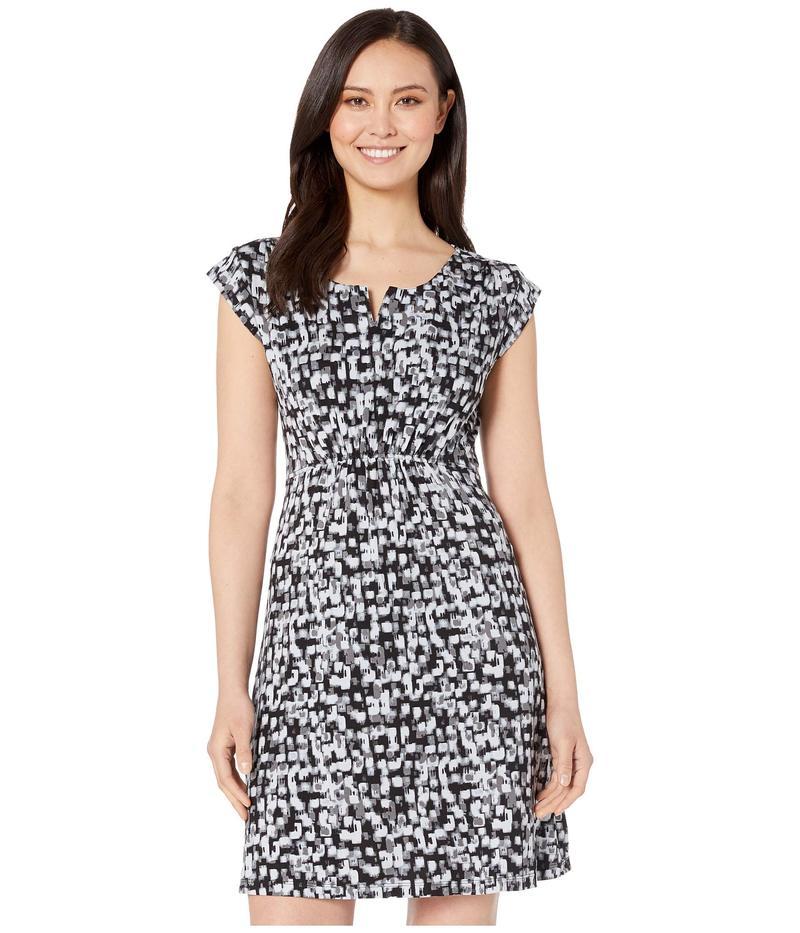 ホワイトシエラ レディース ワンピース トップス Tangier Dress Printed Black