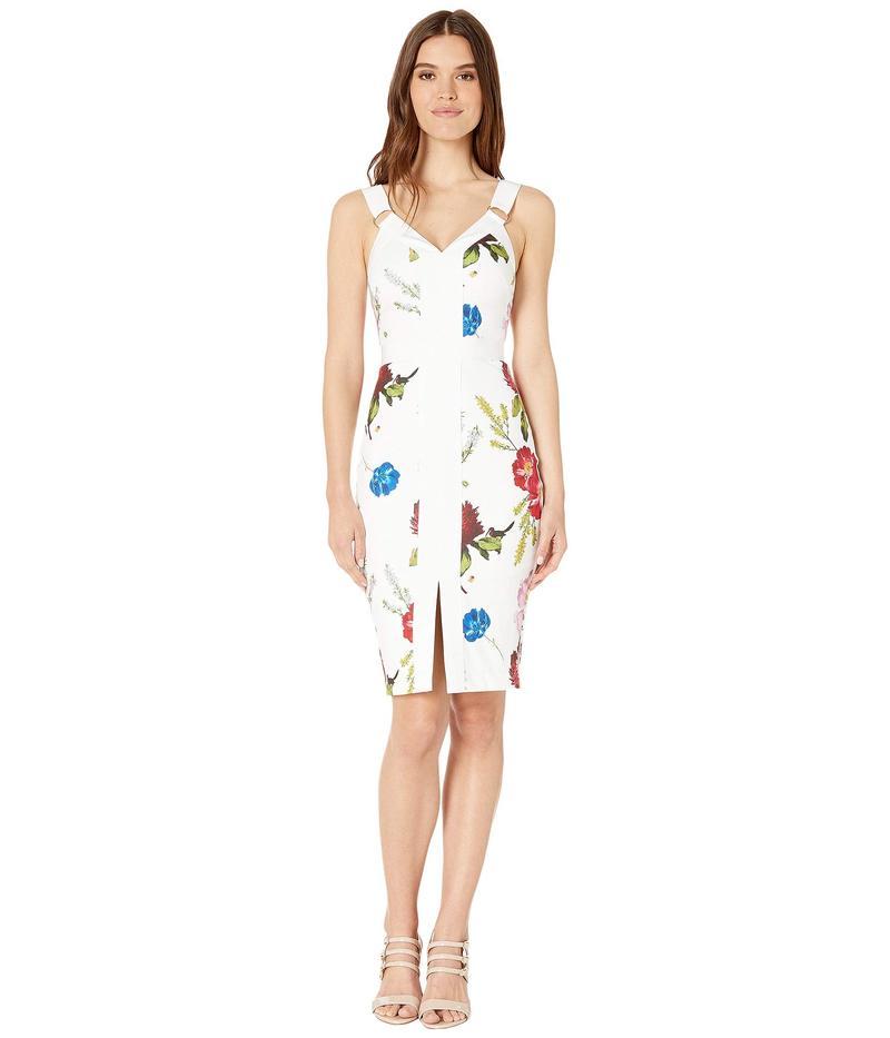 テッドベーカー レディース ワンピース トップス Amylia Berry Sundae Bodycon Dress White