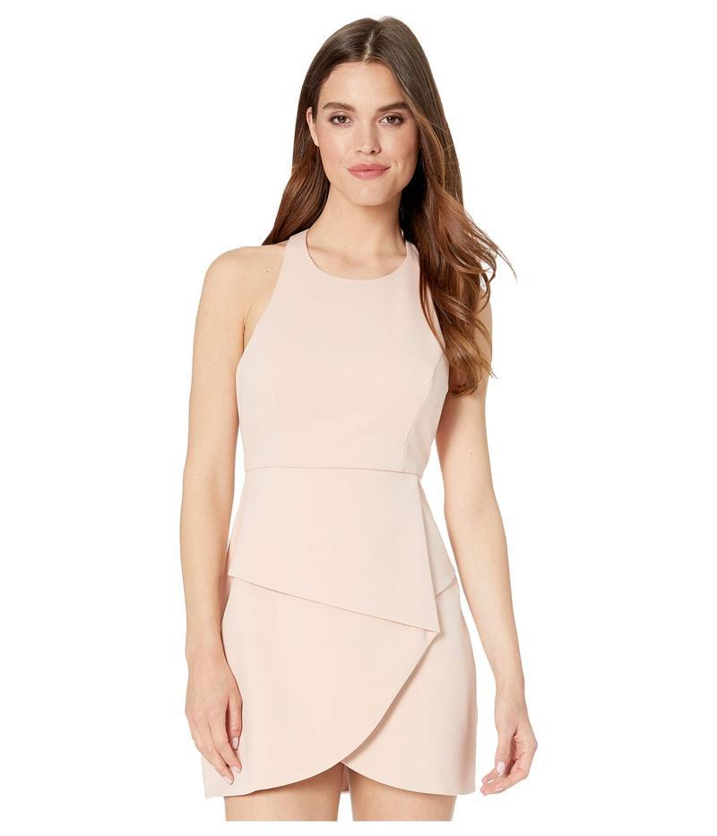 ビーシービージーマックスアズリア レディース ワンピース トップス Short Evening Dress Bare Pink
