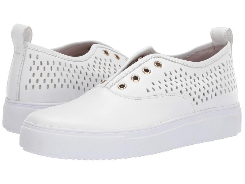 ブラックストーン レディース スニーカー シューズ Low Sneaker Slip-On - RL67 White