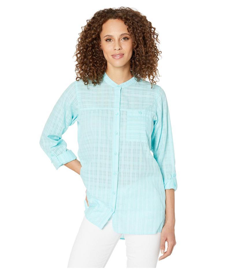 エクスオフィシオ レディース シャツ トップス BugsAway Collette Long Sleeve Shirt Mystic Blue