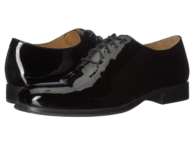 コールハーン メンズ オックスフォード シューズ Gramercy Wholecut Dress Oxford Black Patent