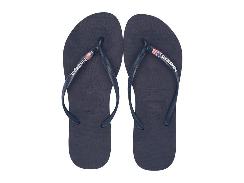 ハワイアナス レディース サンダル シューズ Slim USA Sandal Navy Blue