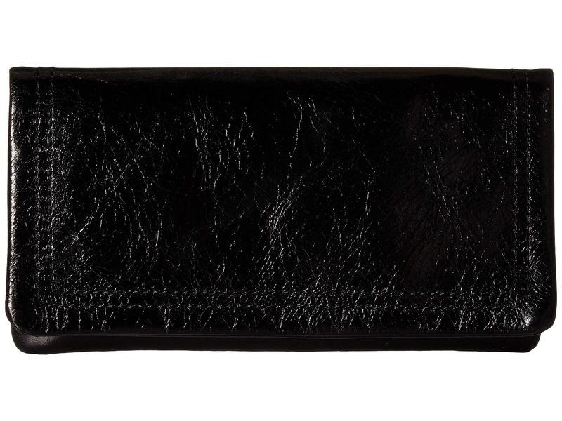 ホボ レディース 財布 アクセサリー Scroll Black