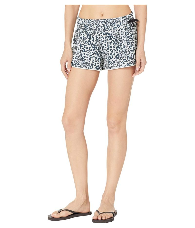 ハーレー レディース ボトムスのみ 水着 Phantom Waverider Leopard Board Shorts Light Cream