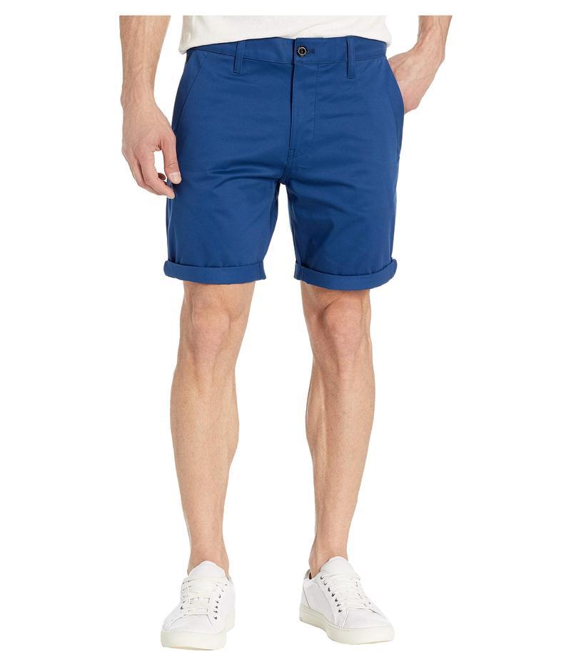 ジースター メンズ ハーフパンツ・ショーツ ボトムス Bronson Straight Shorts Pacific