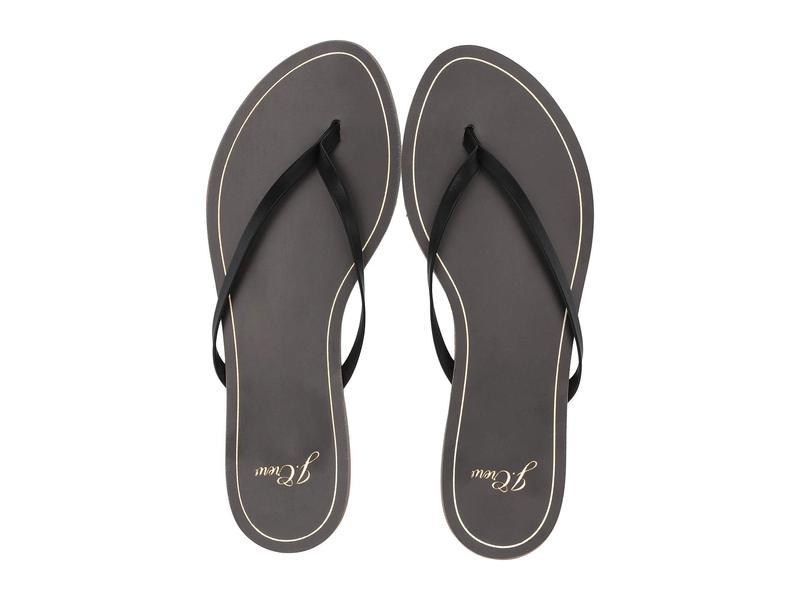 ジェイクルー レディース サンダル シューズ New Capri Leather Flip-Flop Black