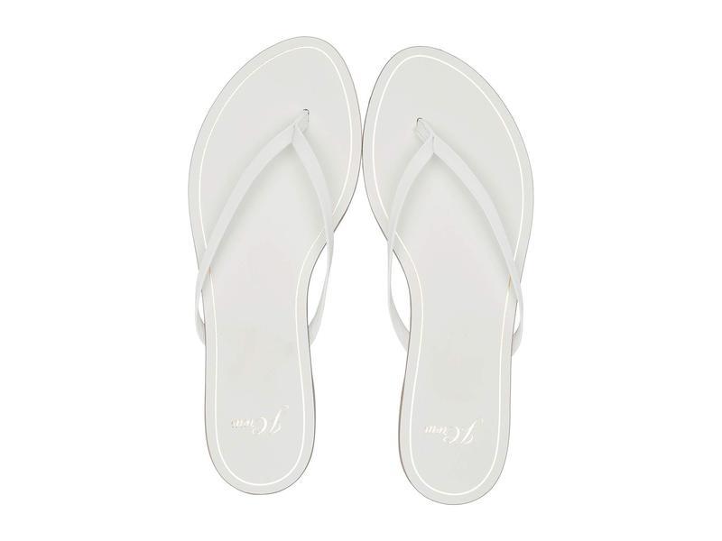 ジェイクルー レディース サンダル シューズ New Capri Leather Flip-Flop White