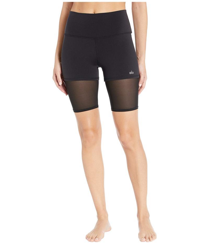 アロー レディース ハーフパンツ・ショーツ ボトムス High-Waisted Shorts Black