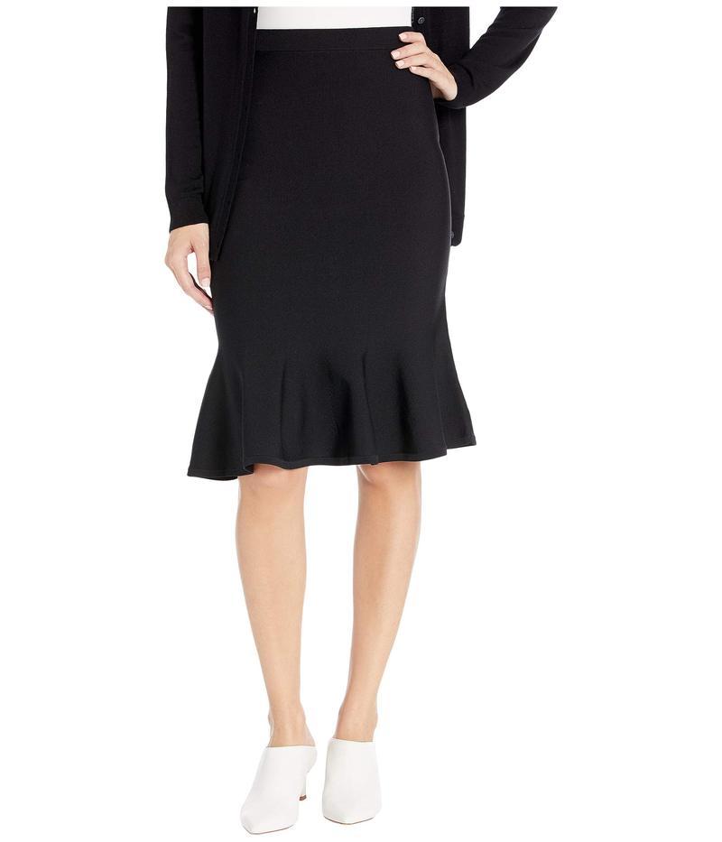 マイケルコース レディース スカート ボトムス Solid Jersey Flare Skirt Black