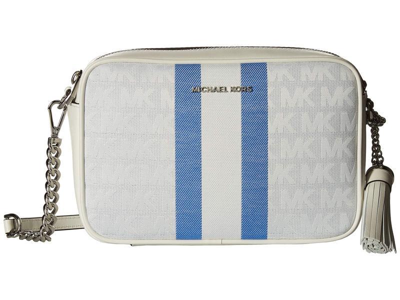マイケルコース レディース ハンドバッグ バッグ Medium Camera Bag Grecian Blue Multi