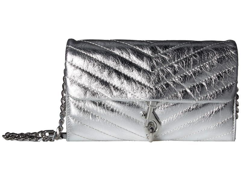 レベッカミンコフ レディース ハンドバッグ バッグ Edie Wallet On Chain Silver