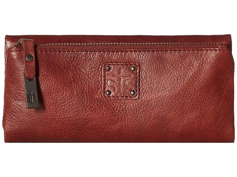 エスティエスランチウェア レディース 財布 アクセサリー Mesa Wallet Reddish Brown