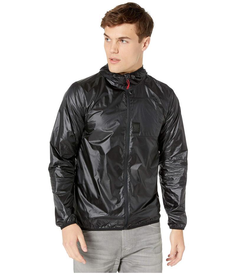 トポ・デザイン メンズ コート アウター Ultralight Jacket Black