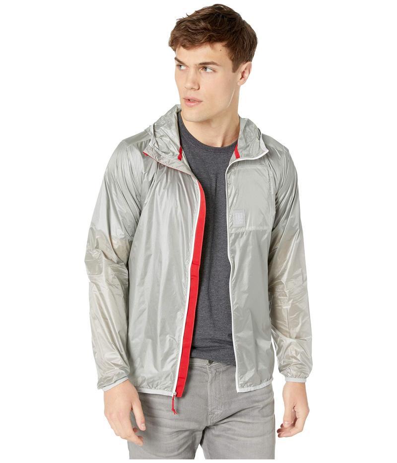 トポ・デザイン メンズ コート アウター Ultralight Jacket Silver