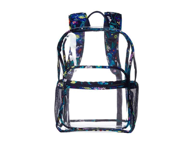 ベラブラッドリー レディース バックパック・リュックサック バッグ Clearly Colorful Large Backpack Moonlight Garden