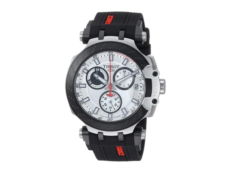 ティソット メンズ 腕時計 アクセサリー T-Sport T-Race Chronograph - T1154172701100 White