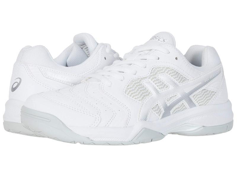 アシックス レディース スニーカー シューズ GEL-Dedicate 6 White/Silver