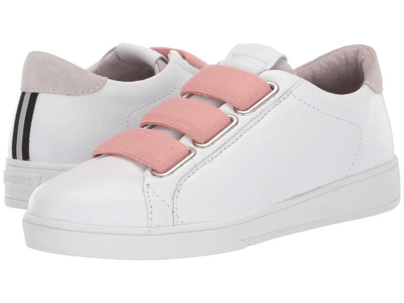 ブラックストーン レディース スニーカー シューズ Low Sneaker 3 Strap - RL82 White/Rose Dust