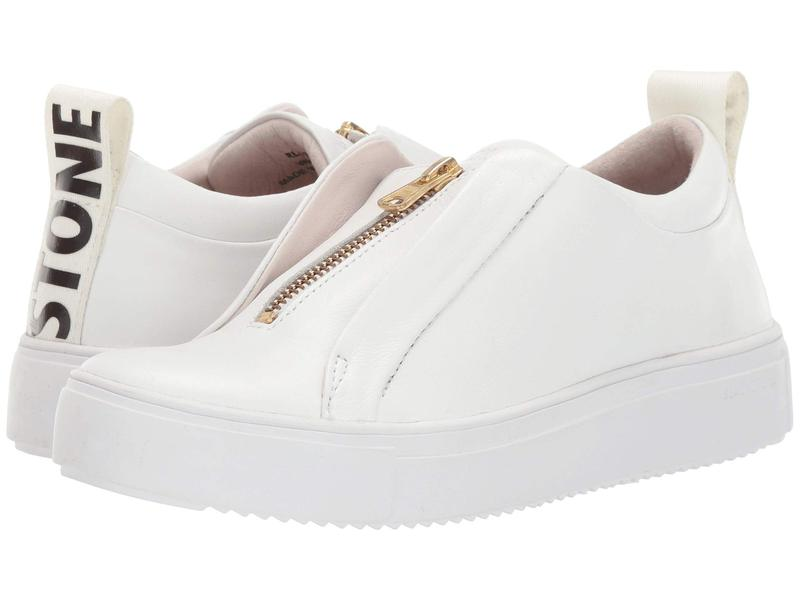 ブラックストーン レディース スニーカー シューズ Mid Sneaker Zip - RL62 White