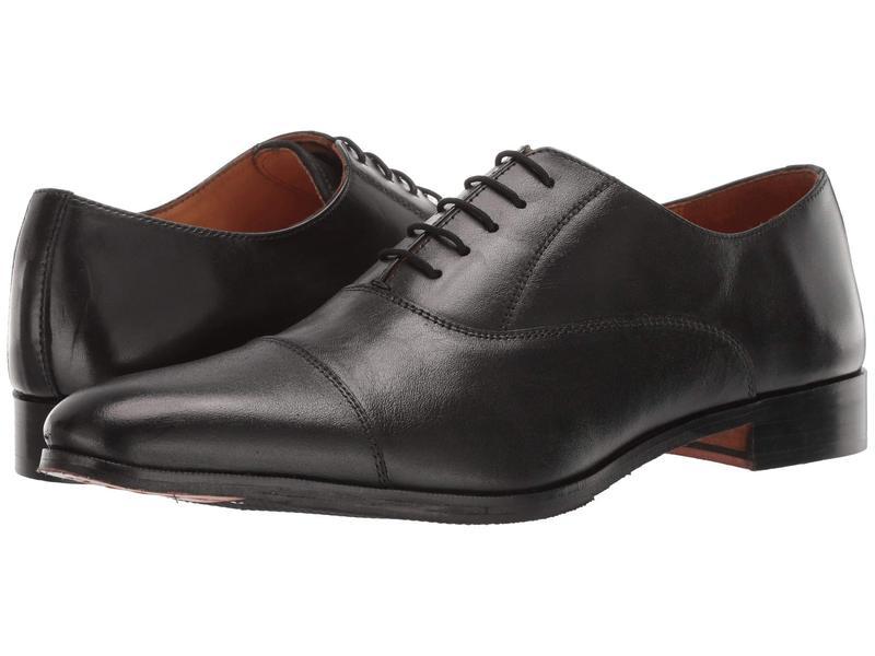 カルロスサンタナ メンズ オックスフォード シューズ Legacy Black Full Grain Calfskin Leather
