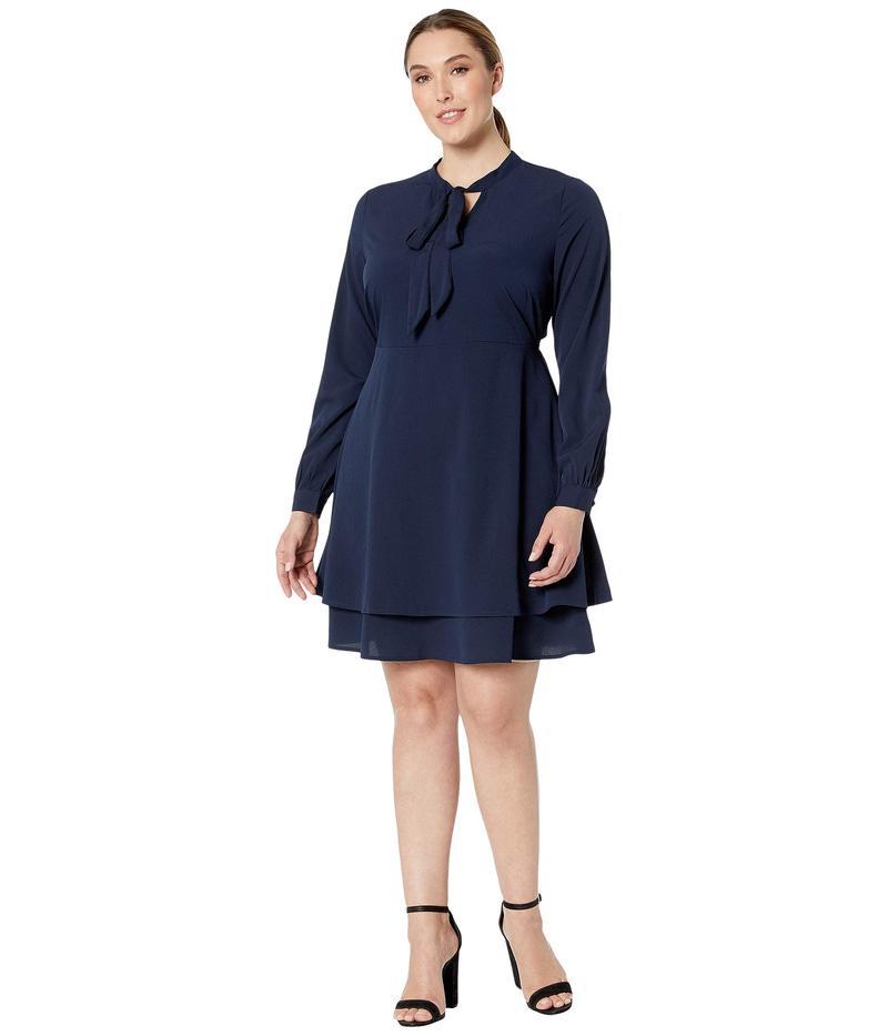 ジュナローズ レディース ワンピース トップス Kasiuz Long Sleeve Dress Navy Blazer