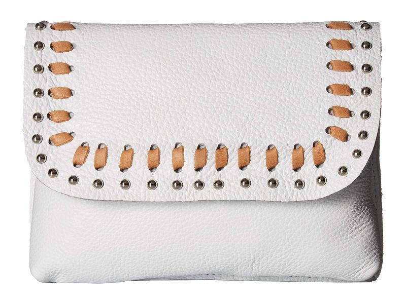 レザロック レディース ハンドバッグ バッグ Faye Convertible Belt Bag/Crossbody White/Tan