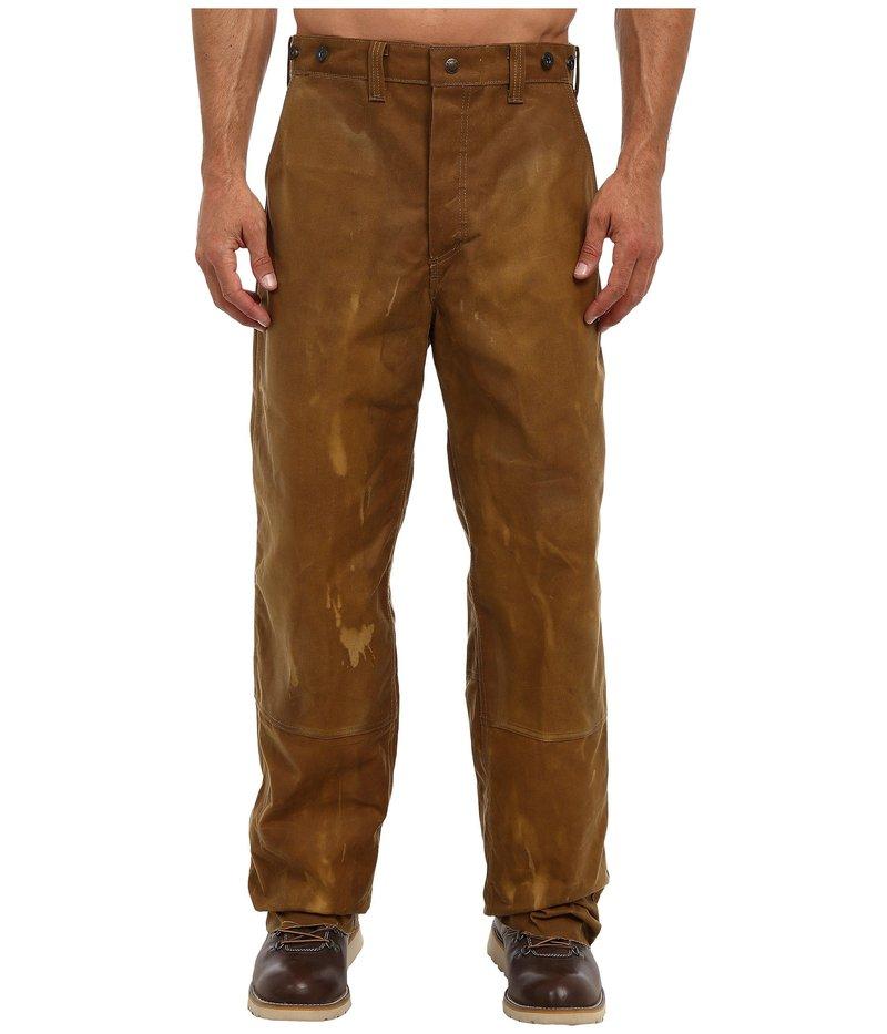 フィルソン メンズ カジュアルパンツ ボトムス Oil Finish Double Tin Pant Tan