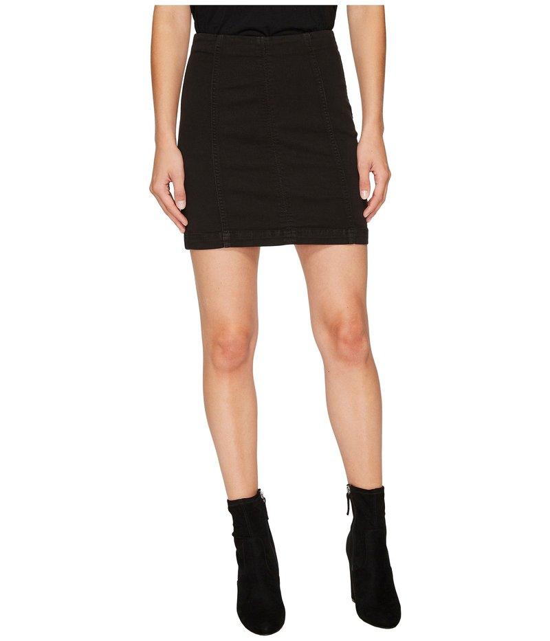 送料無料 サイズ交換無料 フリーピープル お気に入り レディース 永遠の定番 ボトムス スカート Modern Black Skirt Femme Denim