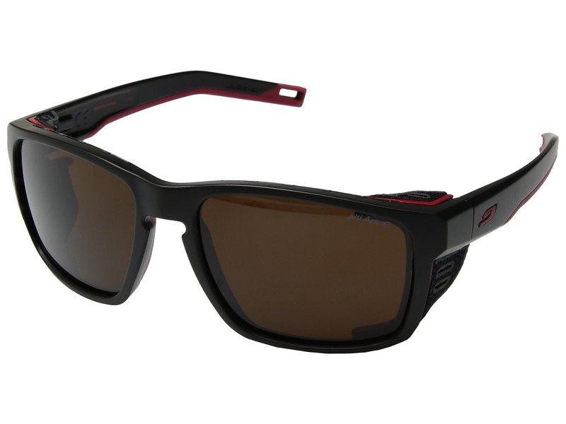 ジュルボアイウェア メンズ サングラス・アイウェア アクセサリー Shield Black/Red/Red