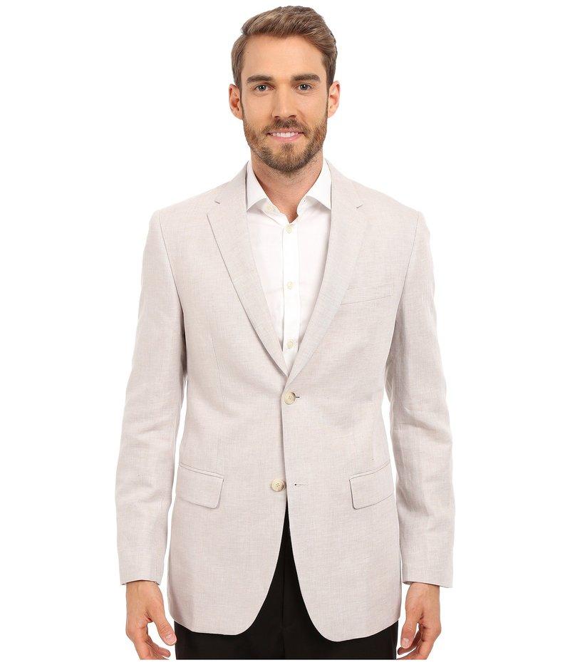 ペリーエリス メンズ コート アウター Linen Suit Jacket Natural Linen