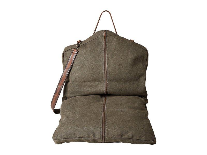 エスティエスランチウェア メンズ ボストンバッグ バッグ The Foreman Garment Bag Dark Canvas