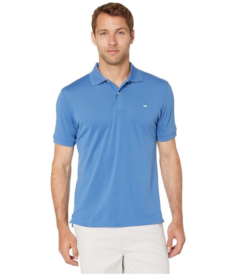 サウザーンタイド メンズ シャツ トップス Jack Performance Pique Polo Shirt Pompeii Blue