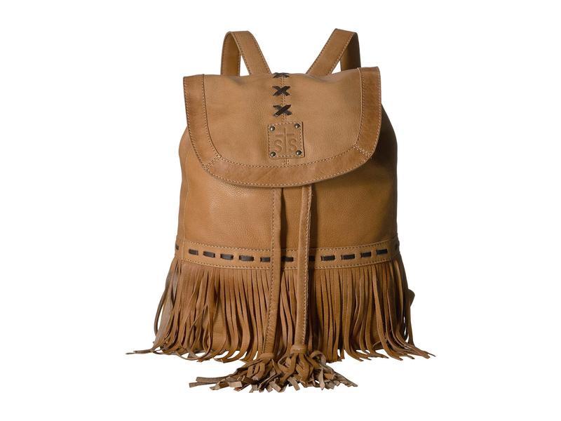 エスティエスランチウェア レディース バックパック・リュックサック バッグ Free Spirit Backpack Camel