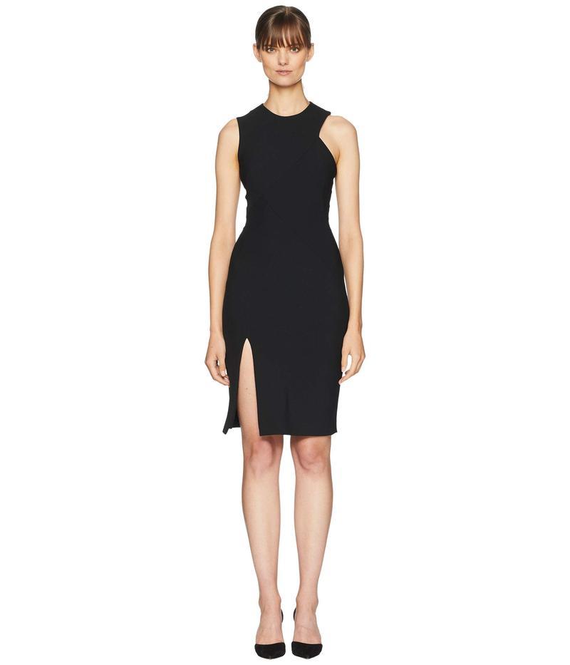 ヴェルサーチ レディース ワンピース トップス Woven Dress Black