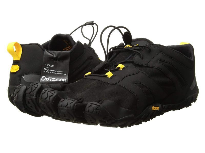 ビブラムファイブフィンガーズ メンズ スニーカー シューズ V-Trail 2.0 Black/Yellow