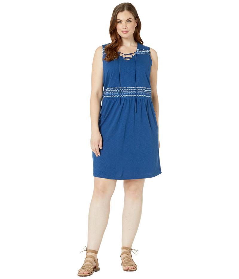 アベンチュラ レディース ワンピース トップス Plus Size Bianca Dress Navy Peony