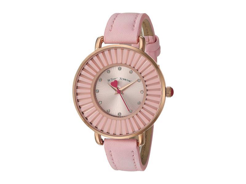 ベッツィジョンソン レディース 腕時計 アクセサリー Subtle and Sleek Watch - 37217395PNK681 Pink